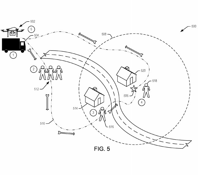 Amazon patent details delivery drone that responds to human gestures