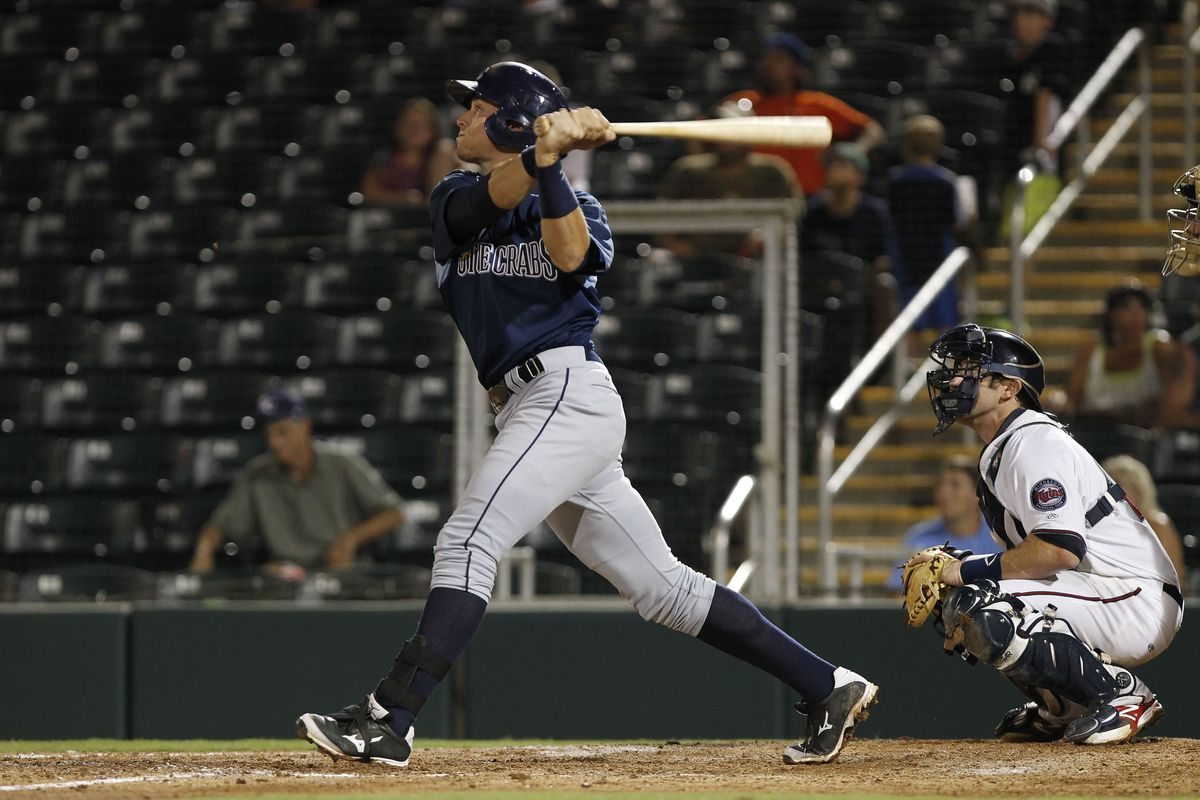 In 30 fewer games, Richie Shaffer is just four home runs behind the International League leader, J.P. Arencibia
