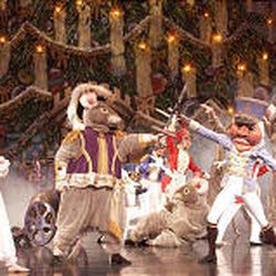 "Ballet West dancers perform the battle scene from ""The Nutcracker"" in 2003."