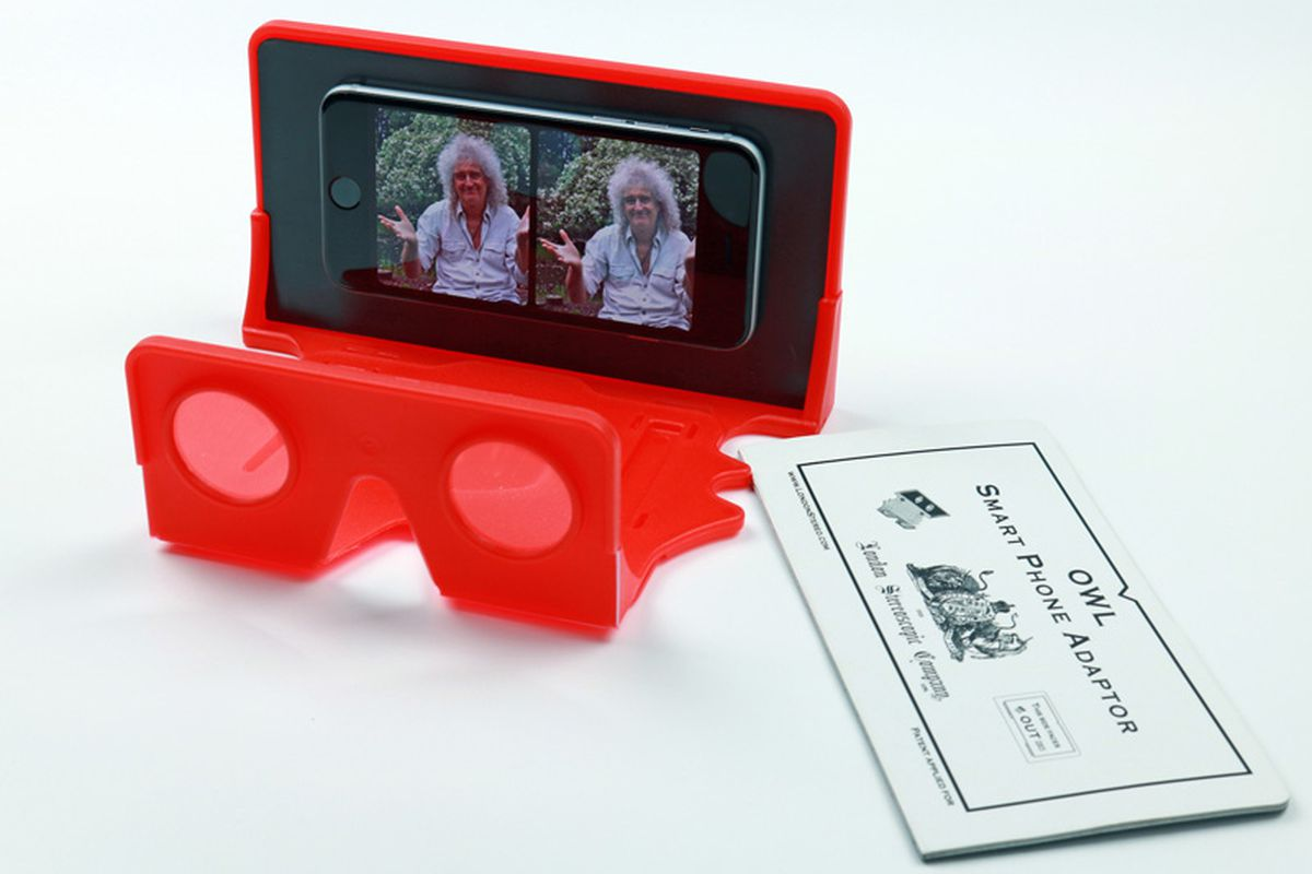 Queen's Brian May is making a VR viewer to speed the demise
