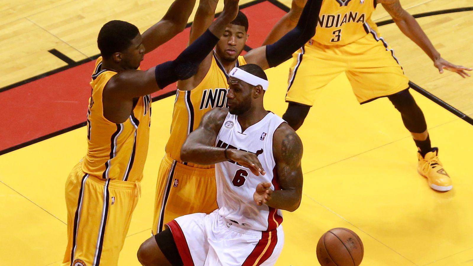 Nba Playoffs 2013 Roy Hibbert S Defense Helps Key Pacers