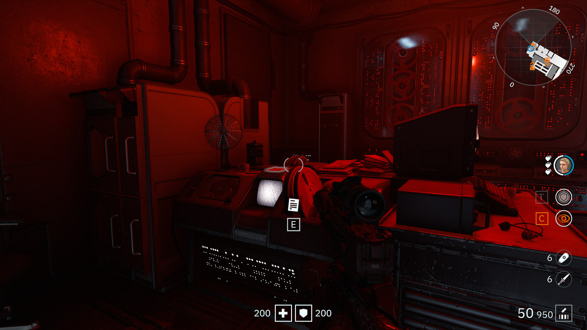 Wolfenstein: Youngblood Readable 30 collectibleGestapo Confession Form