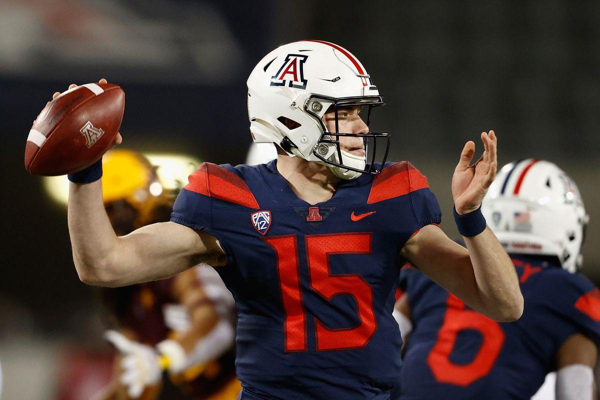 arizona-wildcats-will-plummer-quarterback-gunnell-ucla-freshman-sumlin-fisch-gunner-cruz-2021-spring