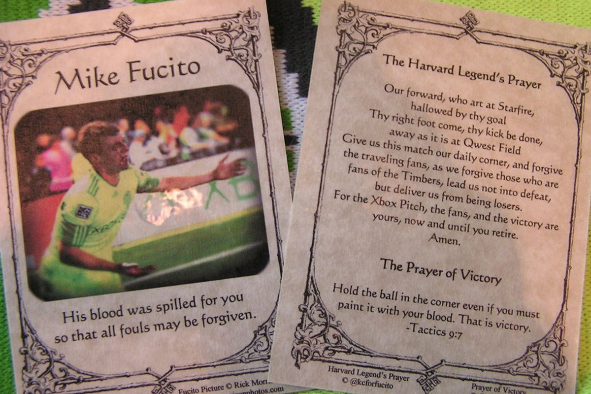 """Church of Fucito Prayer Cards via <a href=""""http://i294.photobucket.com/albums/mm112/kathcbridges/P1010331.jpg"""">KCForFucito</a>"""