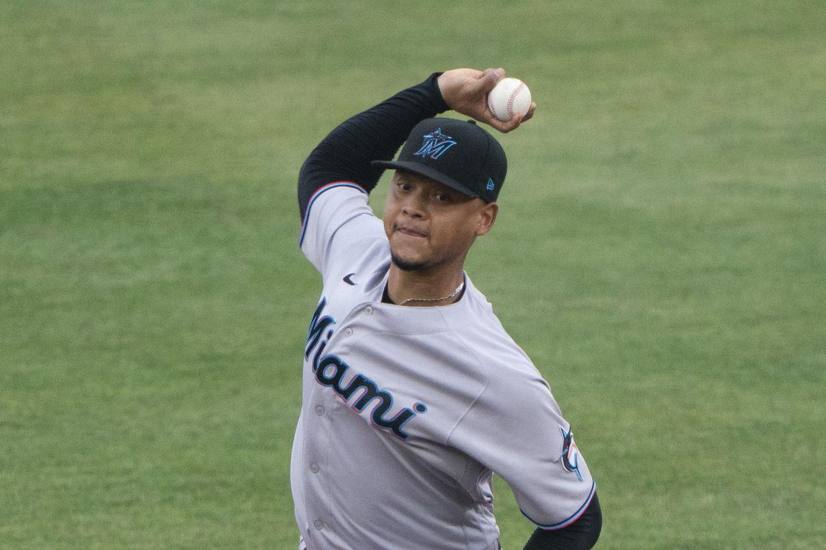 MLB: AUG 11 Marlins at Blue Jays