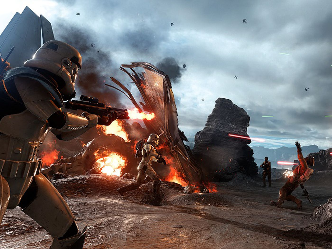 Star Wars Battlefront is perfect for couch co-op - The Verge