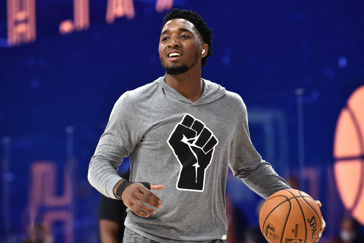 Entire Jazz roster replacing names on jerseys with messages of social justice - SLC Dunk