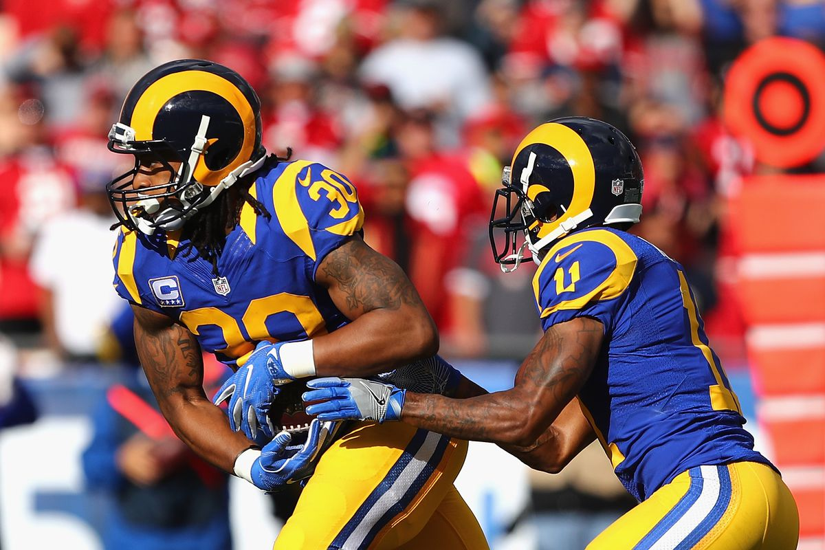 huge selection of 9b096 083ab Rotoworld's LA Rams Fantasy Preview Is Brutal - Turf Show Times