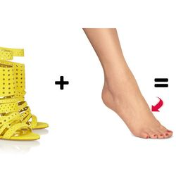 <b>The top of foot blister:</b> The strappy sandal—in particular the heeled strappy sandal—is usually the cause of this particular blister issue, and since the resulting injury is in full view of everyone, it's best not to treat it with anything too medic