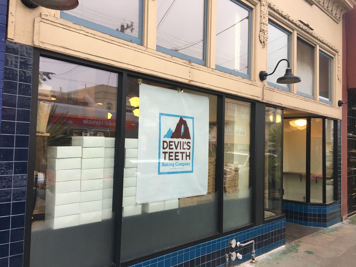 Devil's Teeth Richmond storefront