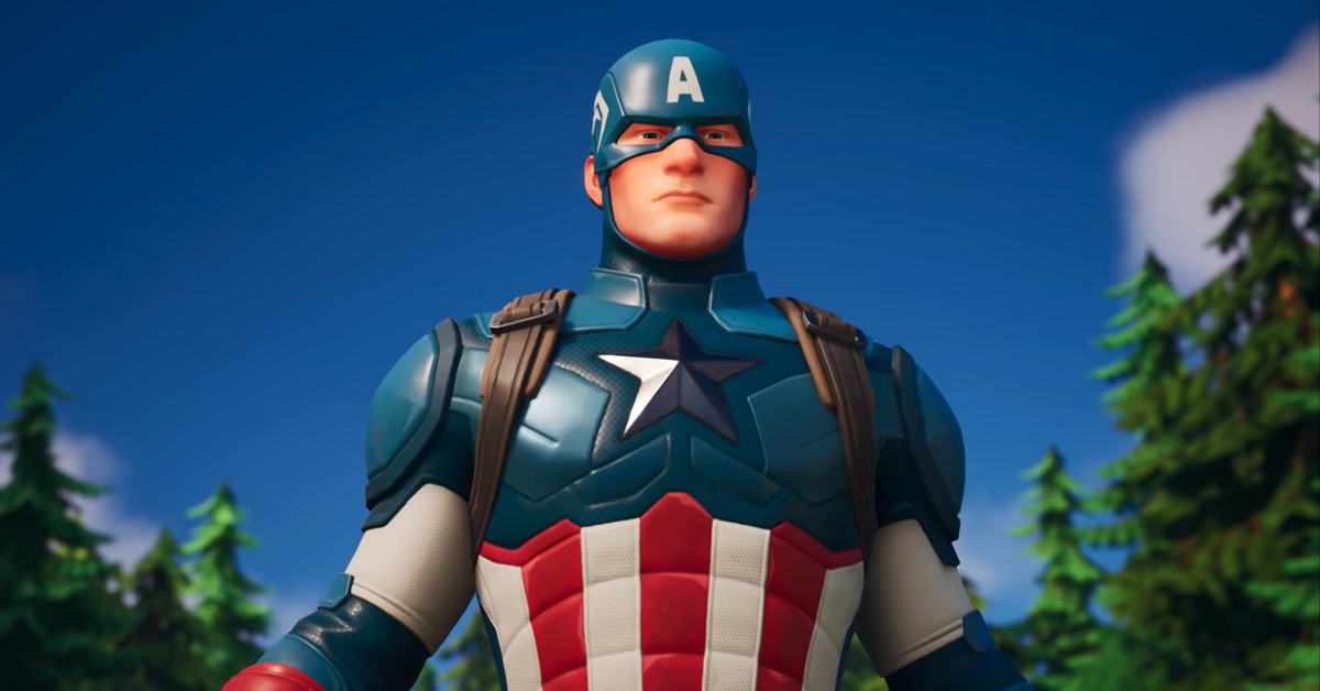 Captain America is now in Fortnite – The Verge