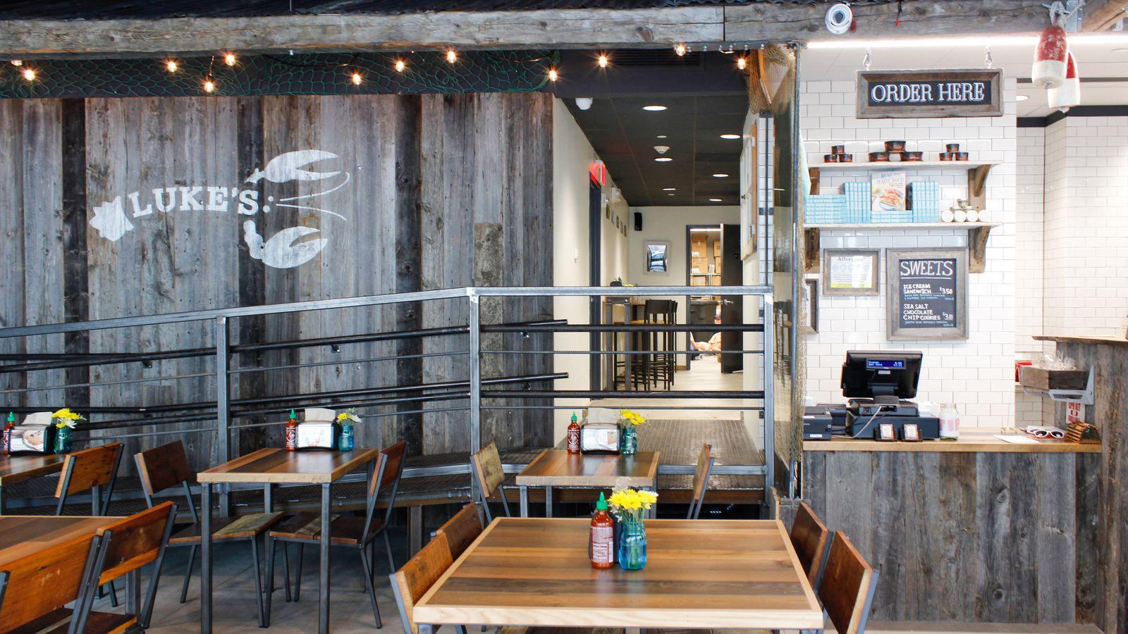 Take a Lobster Roll Break Tomorrow at the New Luke's Lobster - Eater Boston