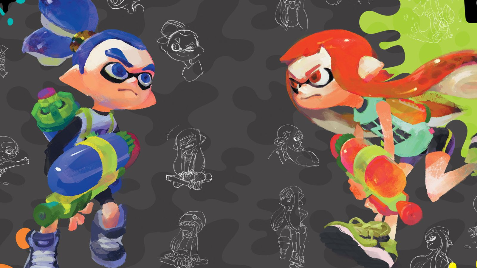 Splatoon S Art Book Is Filled With Concept Art Comics And