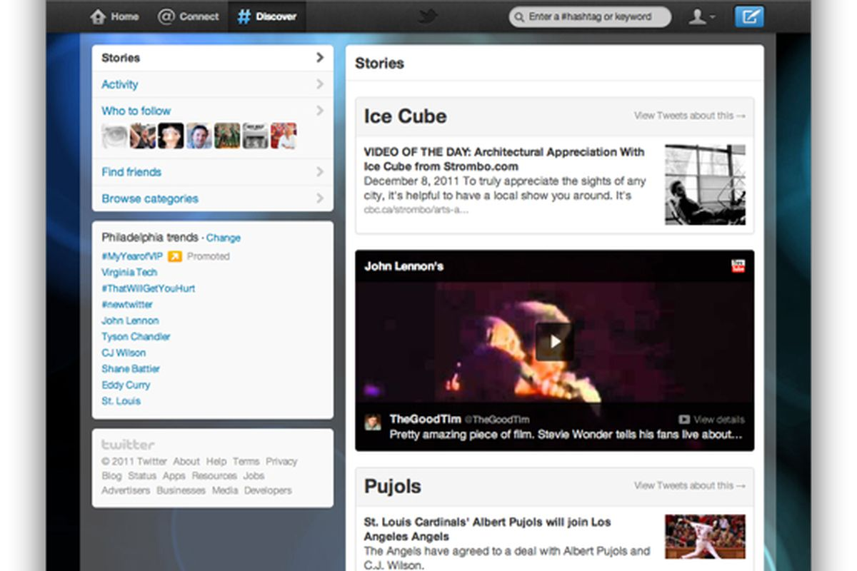 Twitter Discover