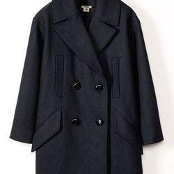 Wool-blend Coat, $299