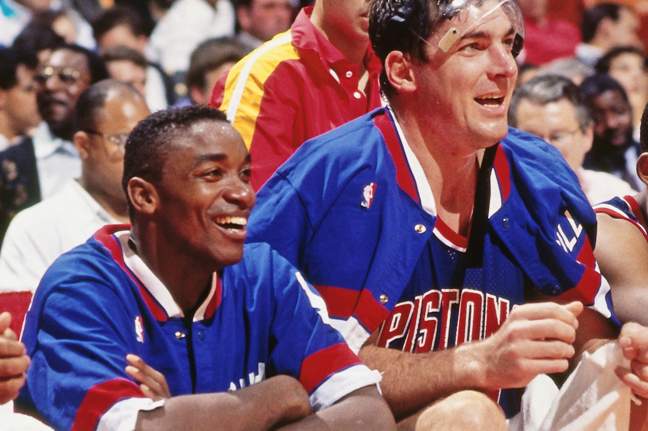671213742.0 - The 1989 Pistons spit all over a rival GM's car to build morale