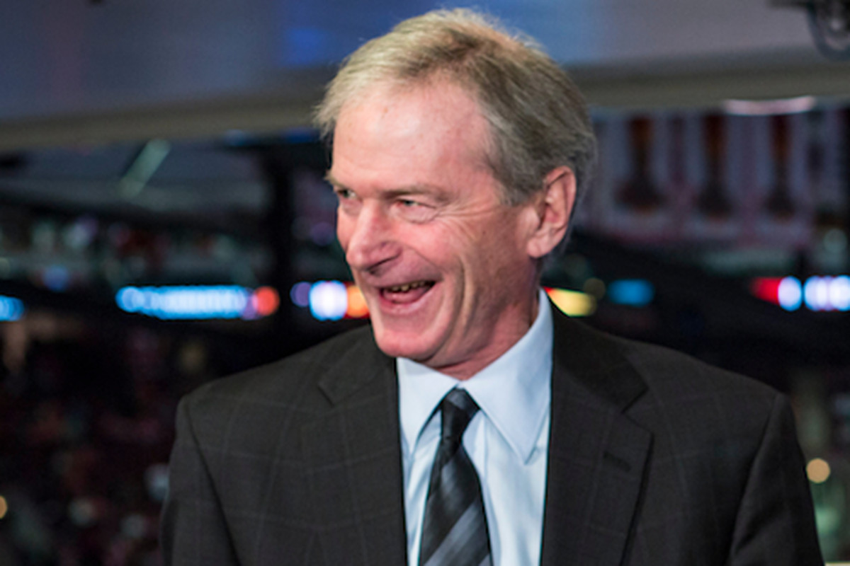 """""""I wish I didn't say that,"""" Pat Foley said during Monday's Blackhawks game, referring to his """"bullet in my head"""" remark. """"I'm sorry if I offended some folks. Apparently I did, so I apologize."""""""