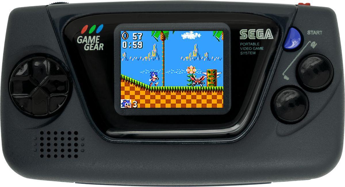 The black Sega Game Gear Micro