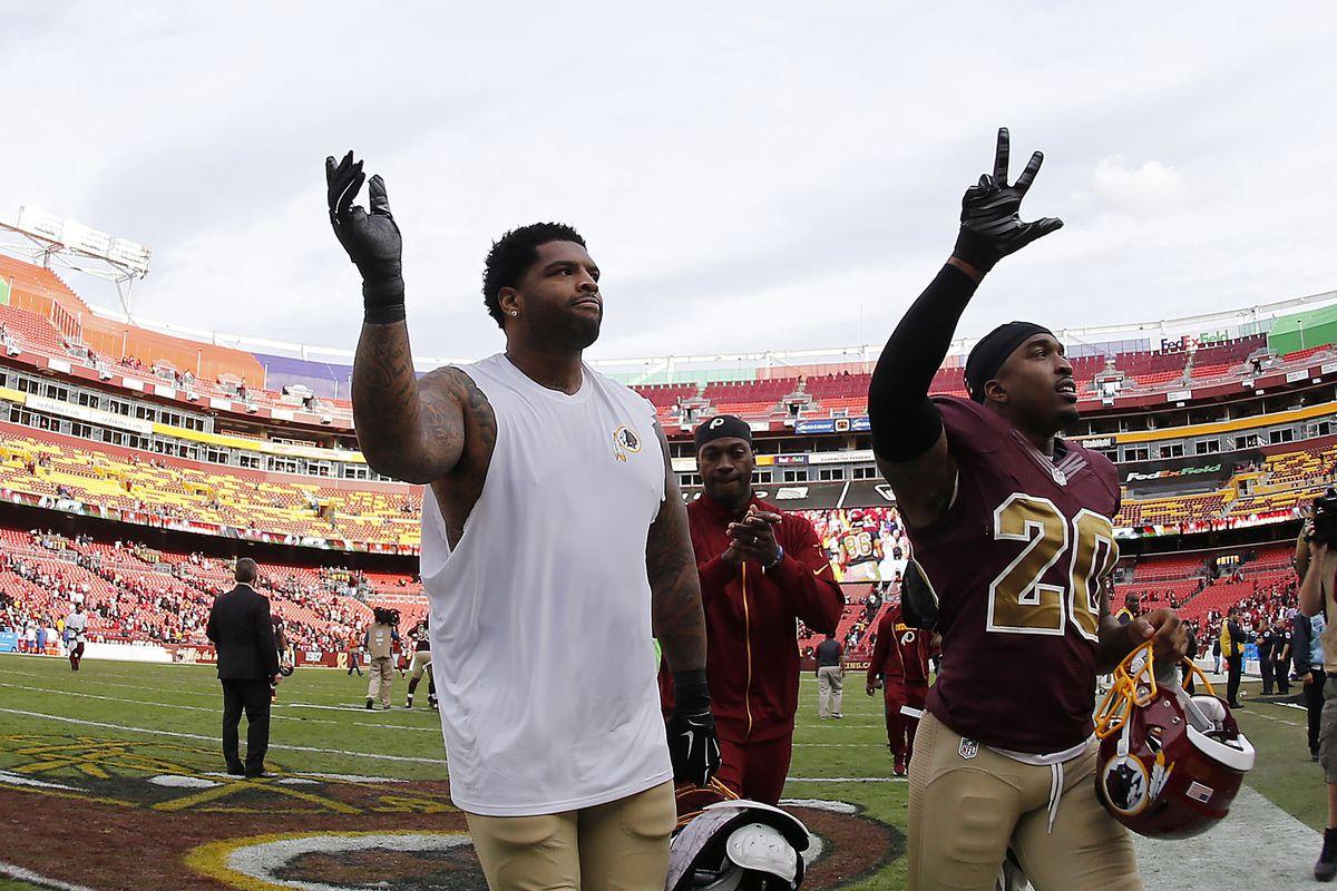 NFL: Tampa Bay Buccaneers at Washington Redskins