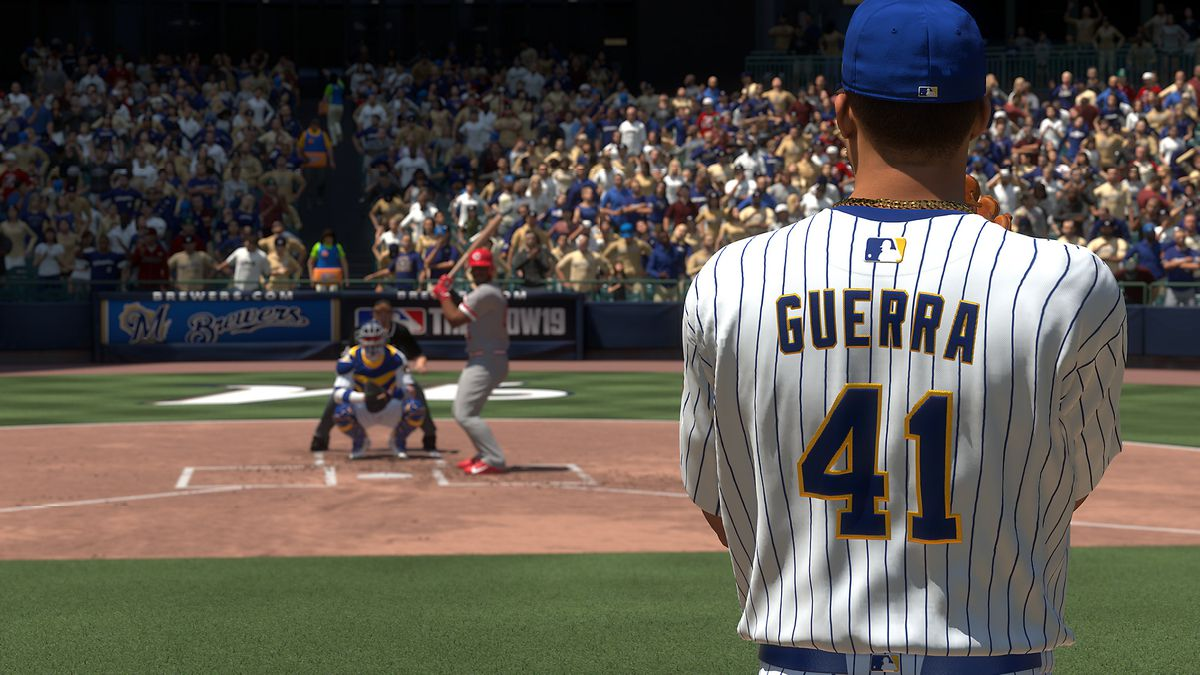 MLB The Show 19 - Junior Guerra on the mound