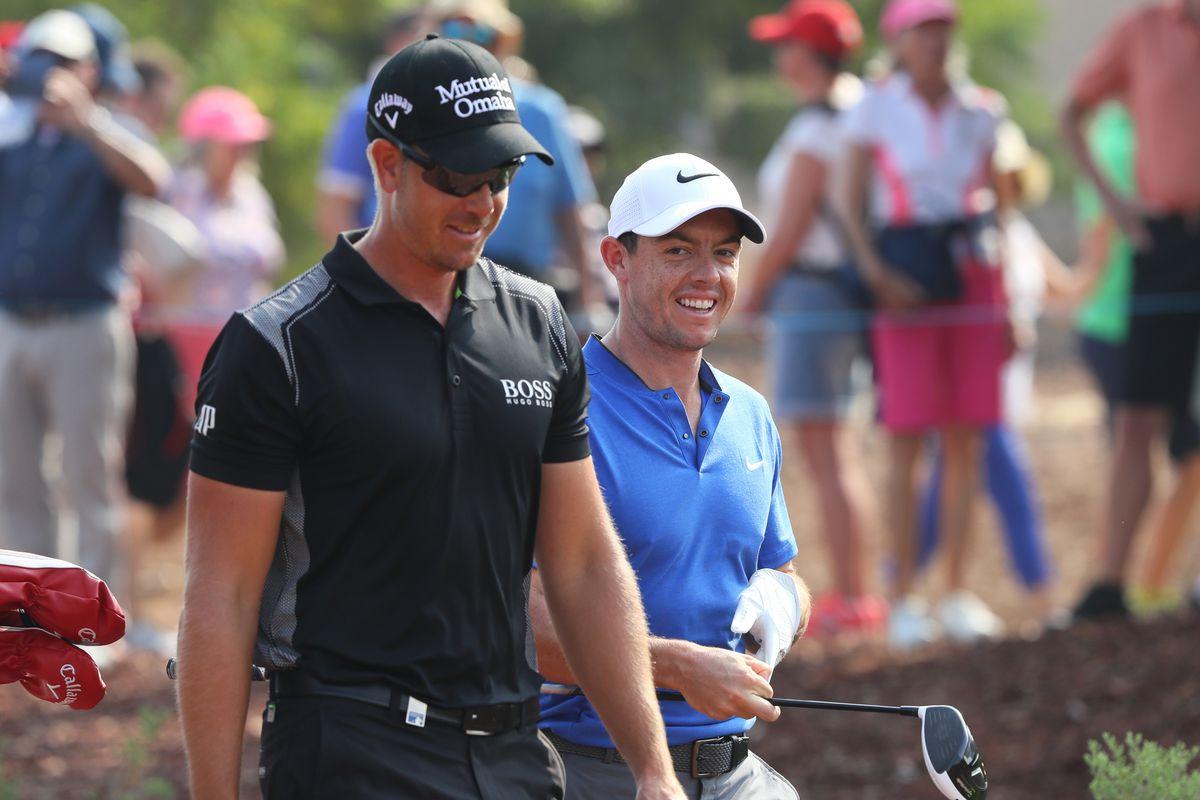 Henrik Stenson Warns Rory Mcilroy Jason Day Not To Swing So
