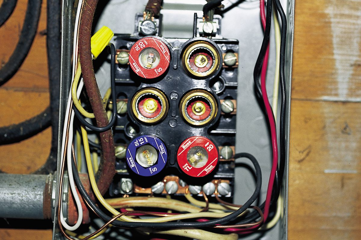 10 Wiring Problems Solved - This Old House on tube dimensions, tube assembly, tube terminals, tube fuses,