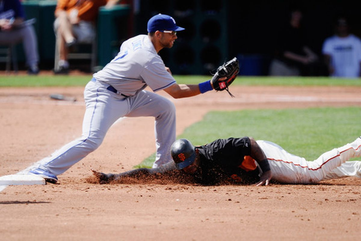Look for Pablo Sandoval and the Giants to come up just a bit short tonight against Clayton Kershaw and the Dodgers.