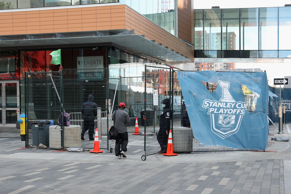 2020 NHL Stanley Cup Playoffs - Edmonton - Rogers General Views