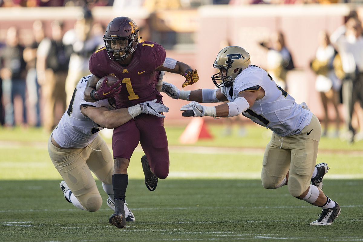 Rodney Smith is ready to lead the Gophers into Lincoln