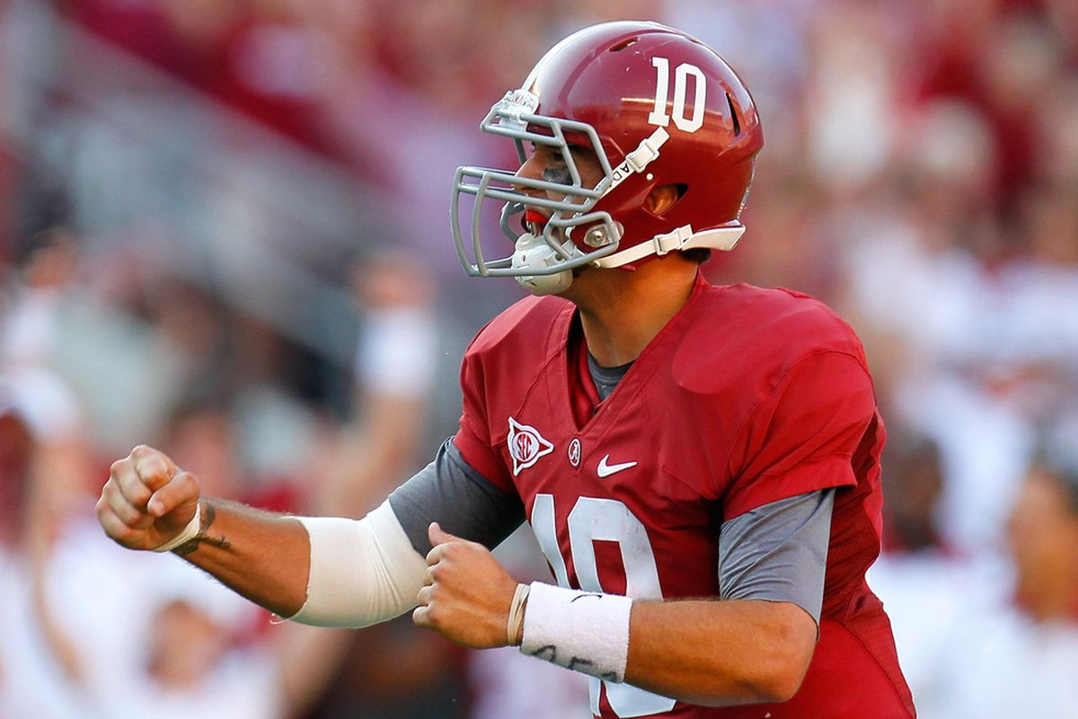 AJ McCarron leads what could be a stronger Alabama offensive attack in 2012.