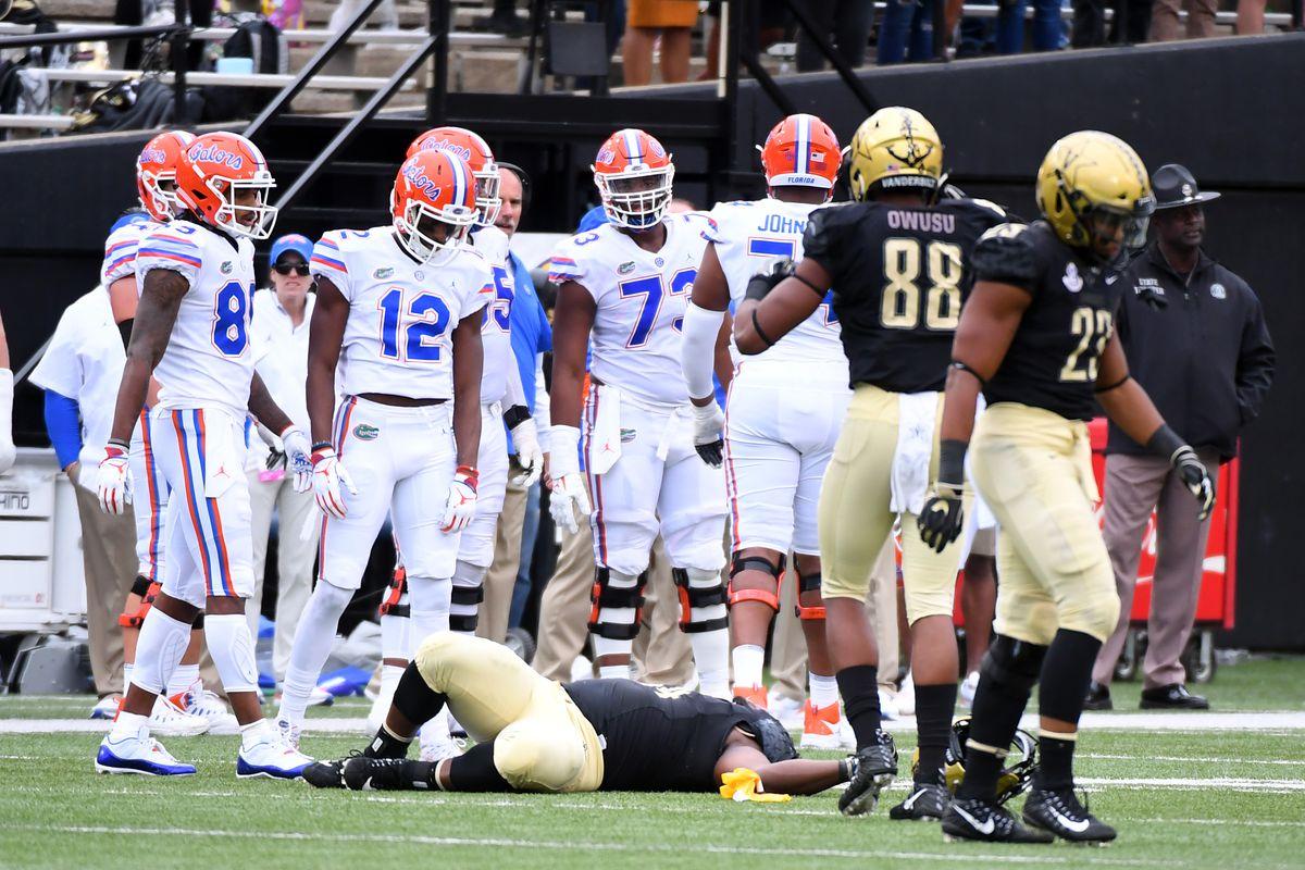 Florida Vs Vanderbilt Weird Things About The Gators Win SBNation com