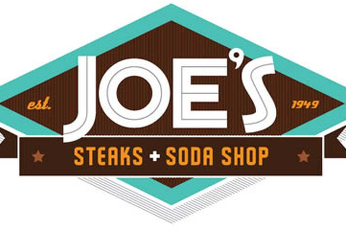 The new logo for Joe's Steaks + Soda Shop
