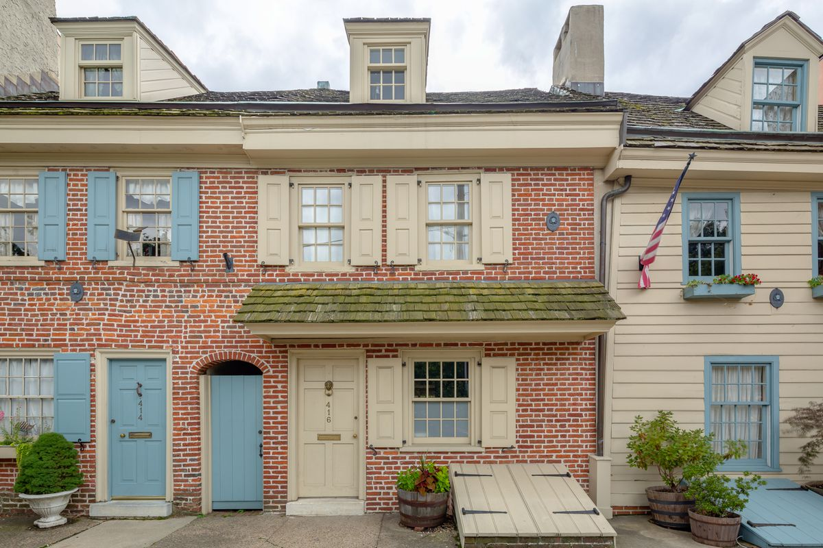 historic queen village home from 1750 asks 585k curbed philly