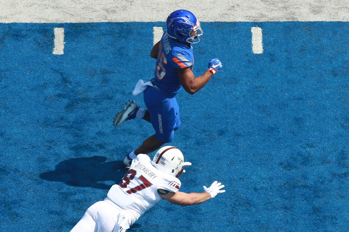 NCAA Football: Troy at Boise State