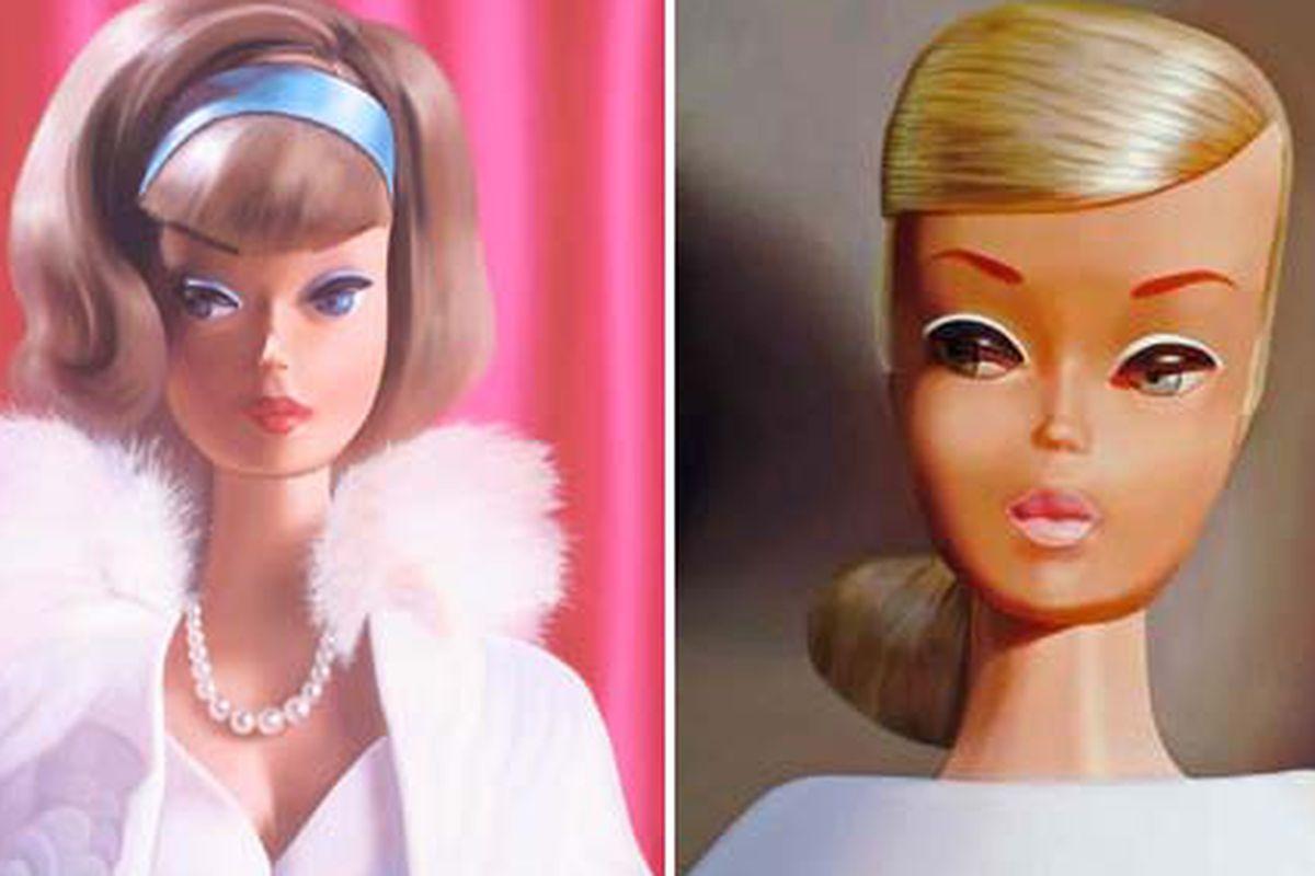 "Barbie oil paintings via <a href=""http://www.judyragagli.com/"">Judy Ragagli</a>"