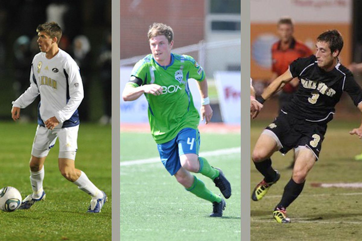 """Quinn, Lee, Arena Join U23s (Photo Courtesy Chris Coulter & <a href=""""http://www.soundersu23.com/index.html"""" target=""""new"""">SoundersU23</a>)"""