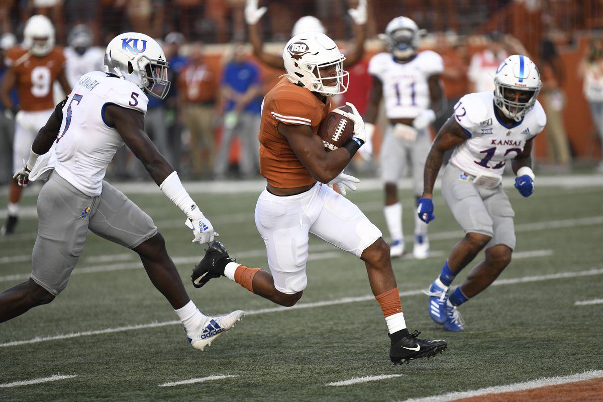 NCAA Football: Kansas at Texas