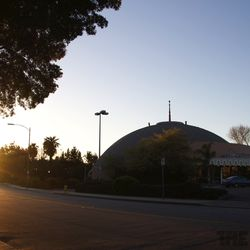 Sunset on the Dome