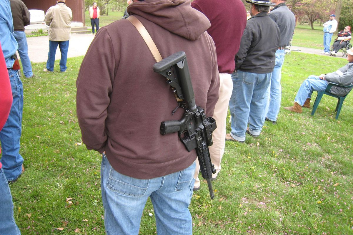 """Why so many American men want to be the """"good guy with a gun"""