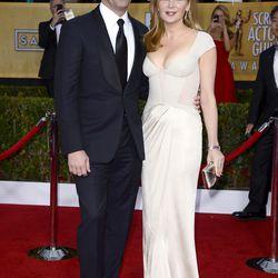 Jon Hamm and gf Jennifer Westfeldt, looking bodacious in Blumarine.