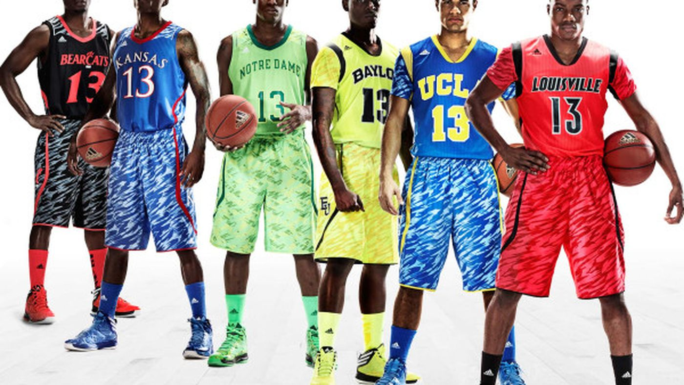 Adidas NCAA Tournament jerseys now have sleeves AND Zubaz ...