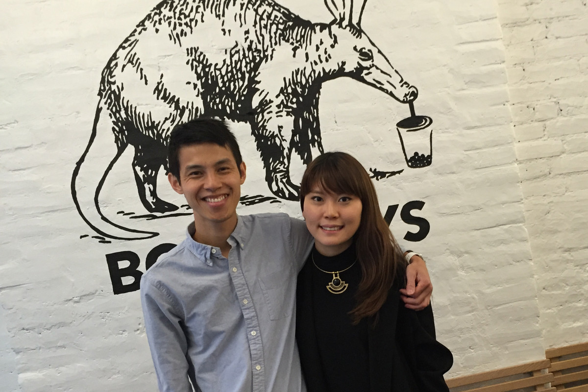 Bin Chen and Tammy Na of Boba Guys