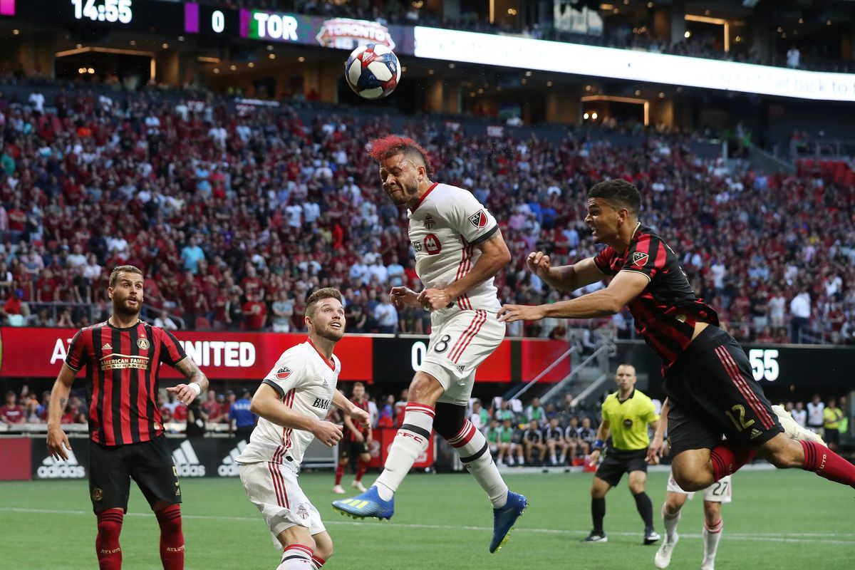new concept 94861 ac5cc MLS  Toronto FC at Atlanta United FC