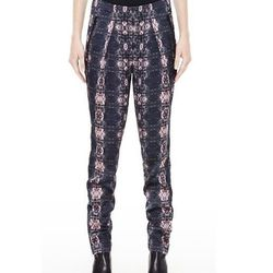 """<a href=""""http://www.theory.com/paguy-iscale-pant/D09TT204,default,pd.html?dwvar_D09TT204_color=M00&start=103&cgid=new-styles-added"""">Paguy Pant in Iscale Silk</a>, $159.37 (was $425)"""