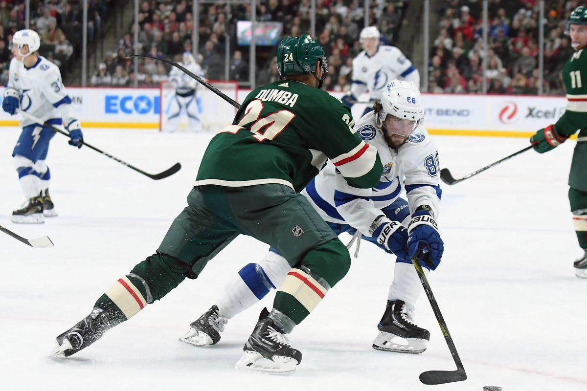 NHL: JAN 20 Lightning at Wild