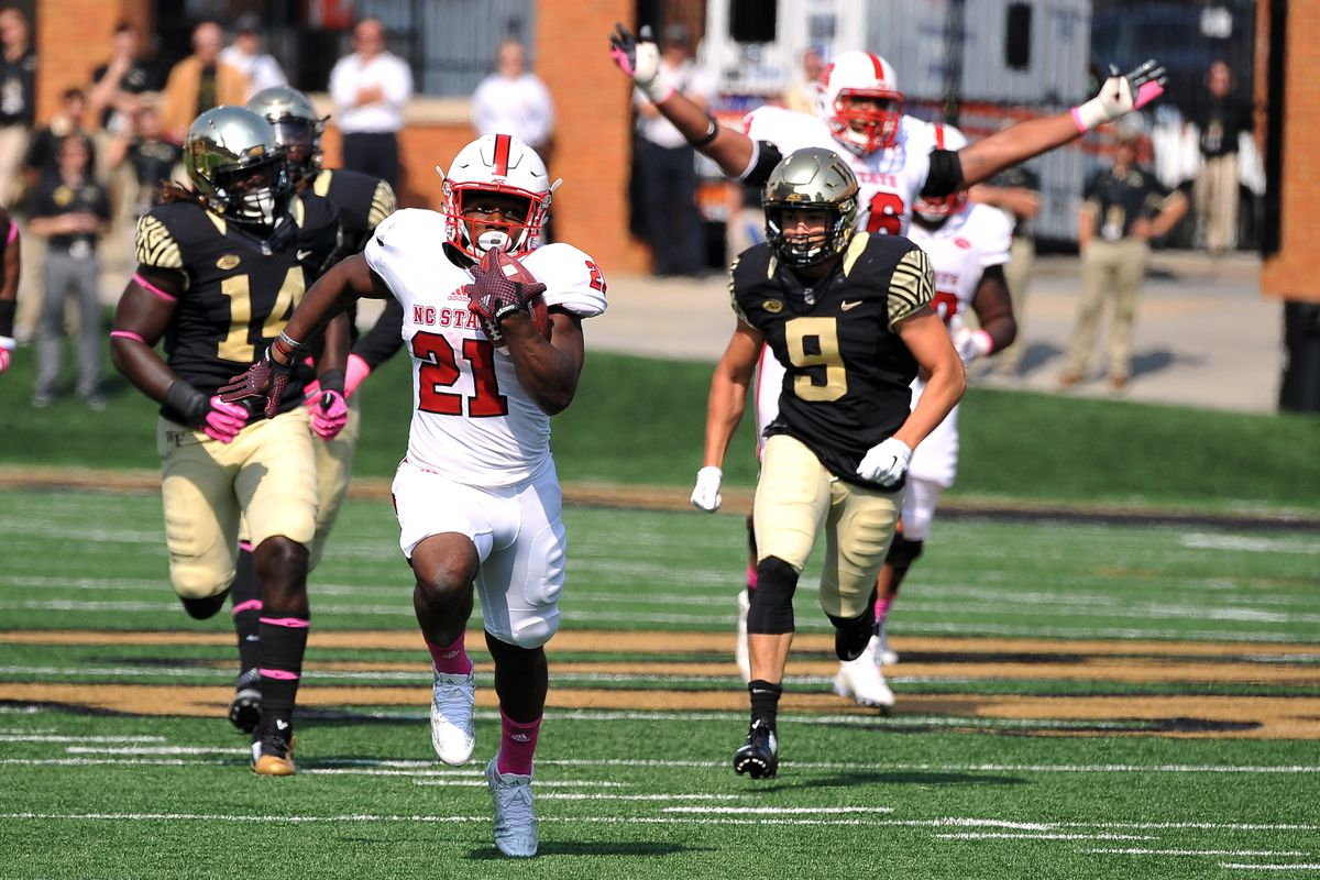 timeless design 5b2eb 92a7b NC State leading rusher Matt Dayes out for season with foot ...