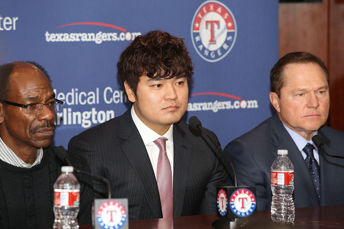 Texas Rangers Introduce Shin-Soo Choo