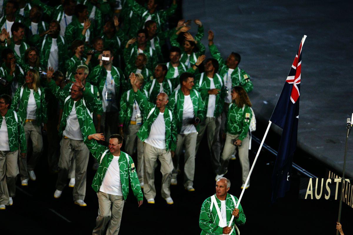 Nobody does ugly sports uniforms like Australia 4