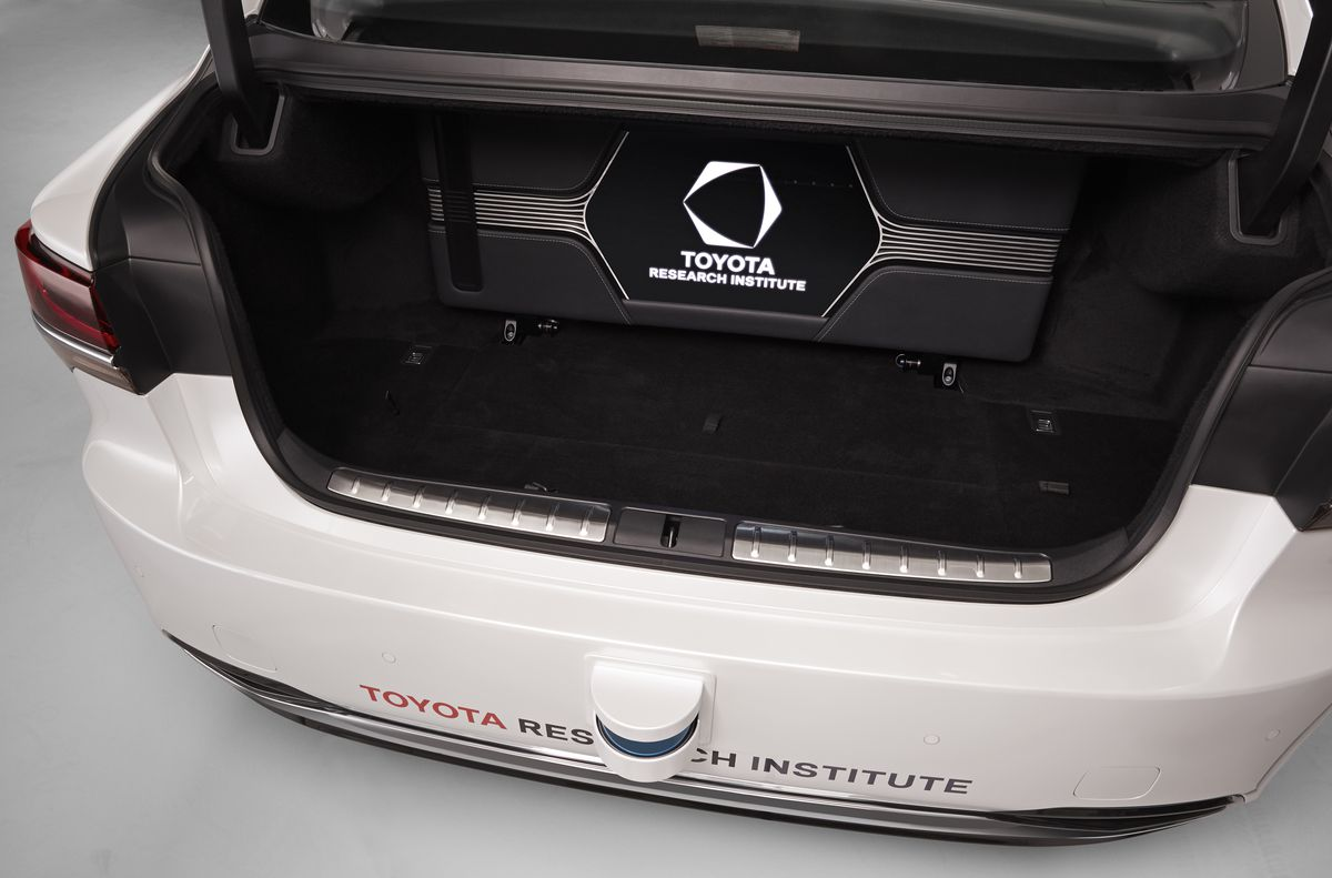 toyota s self driving cars can now fit more junk in their trunks