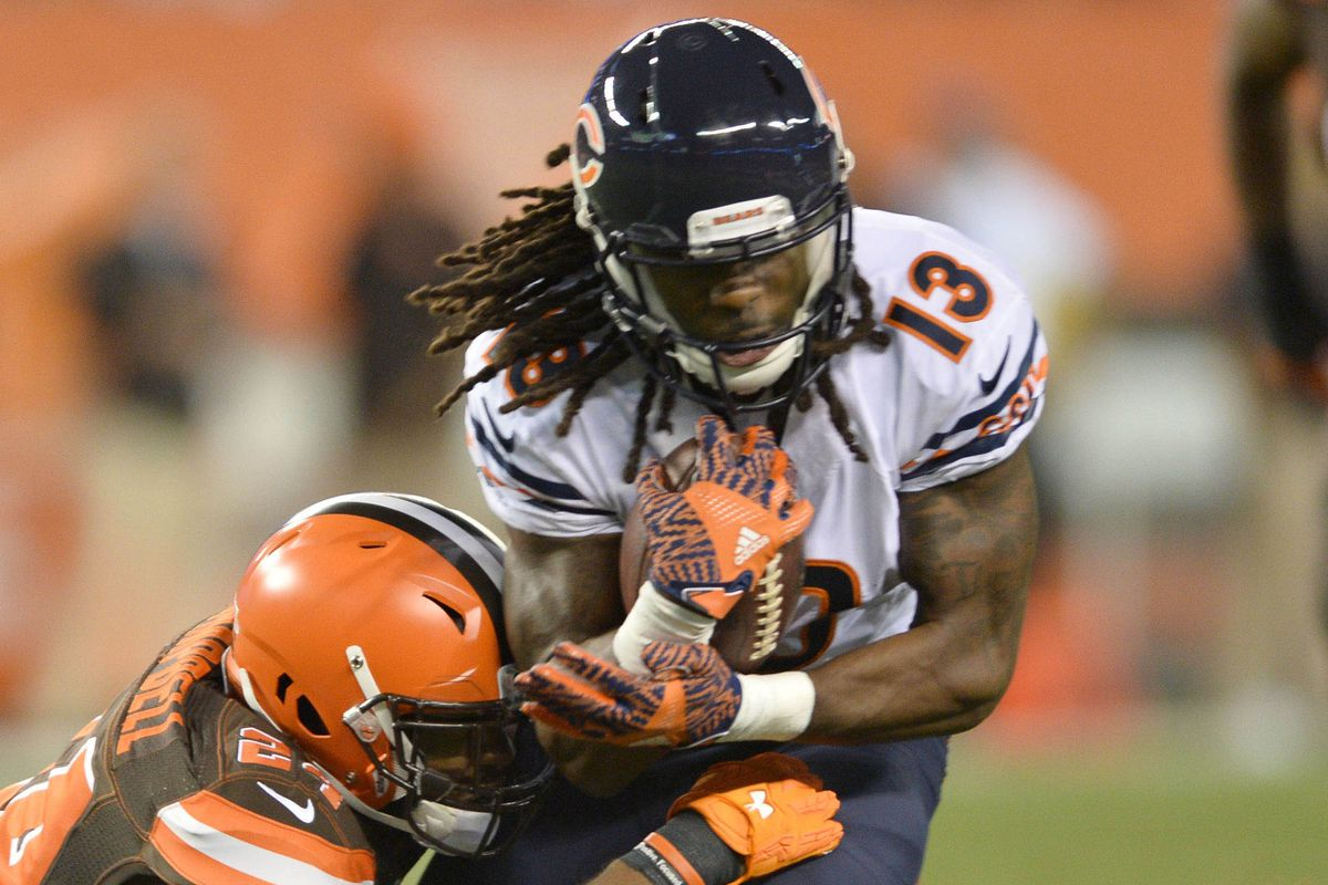 Kevin White had a solid game against Cleveland